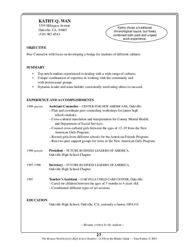 Resume For Teen  Free Porn Star Teen