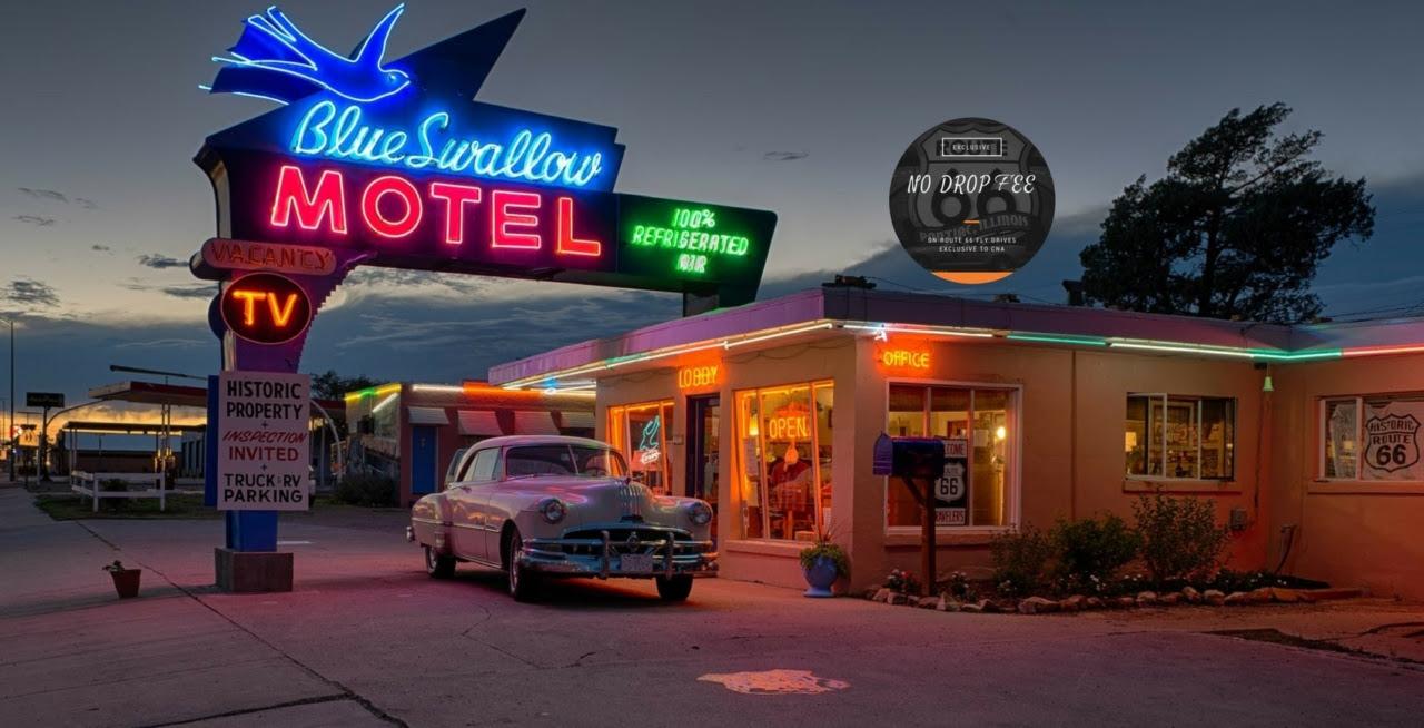 Blue Swallow Motel Route 66 2