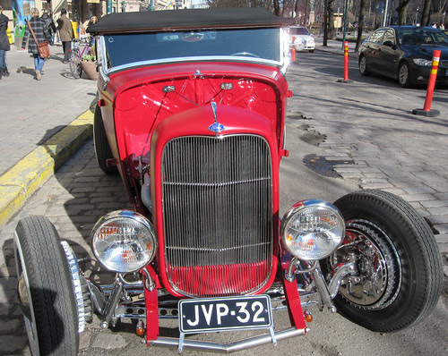 026  old Ford in Helsinki