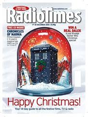 Radio Times Tardis Christmas 2005