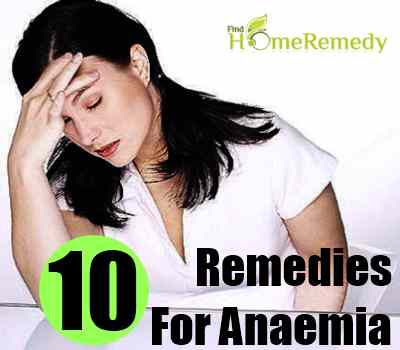 How To Treat Anemia With Natural Remedies   Find Home ...