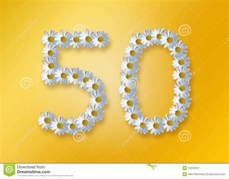 50th Birthday Royalty Free Stock Photography   Image: 15249397