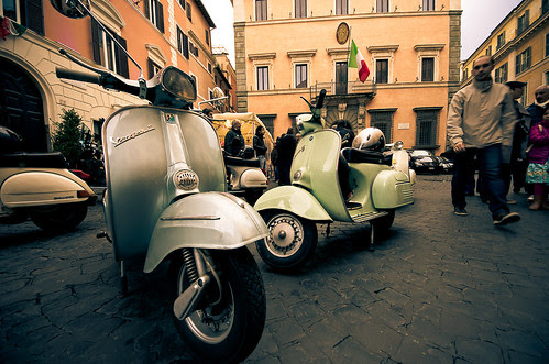 Vespa meeting by Merlindino