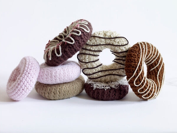 Amigurumi Doughnut Crochet Pattern