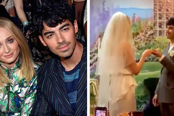 Joe Jonas And Sophie Turner Just Got Married In Las Vegas