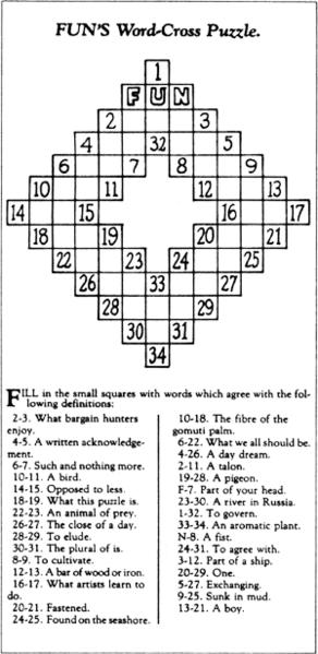 Intrinseco y expectorante: Arthur Wynne el inventor del crucigrama