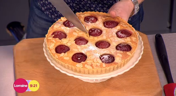 James Tanner plum and almond tart with rum recipe on ...