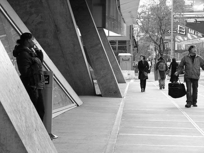 Cooper Union sidewalk, NYC