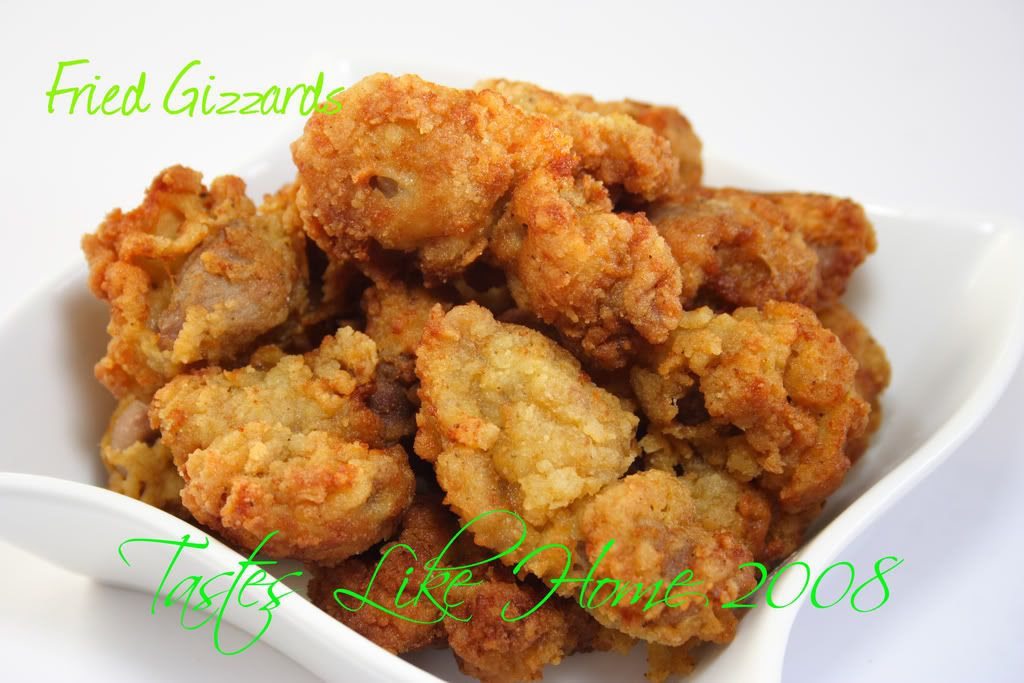 Fried Gizzards