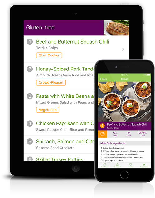 Gluten Free Meal Plans - Weekly Gluten Free Meal Planning ...