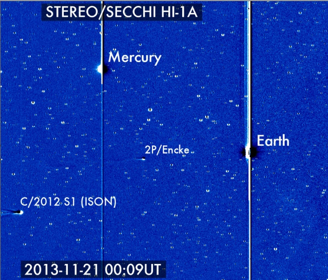 STEREO imagery of comets nearing the sun