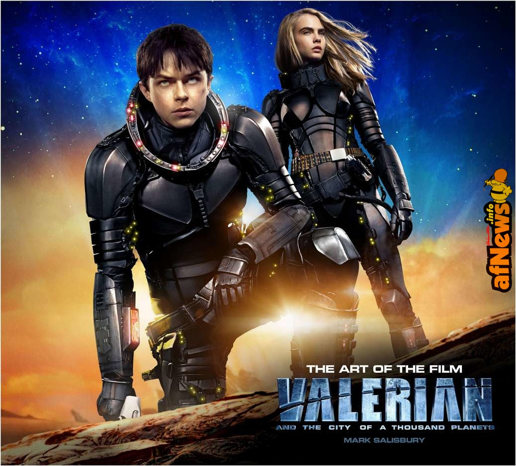 Valerian and the City of a Thousand Planets: The Art of the Film – il libro delle immagini
