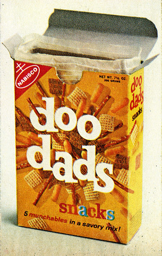 Nabisco - Doo Dads Introduction magazine ad - close-up - 1966