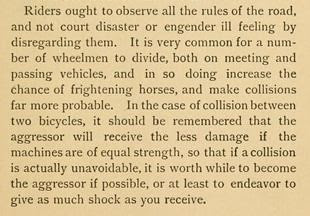 """""""In case of collision between two bikes"""""""