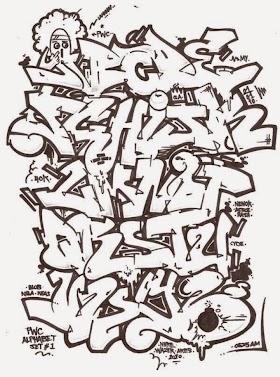 Grafiti A Z Keren