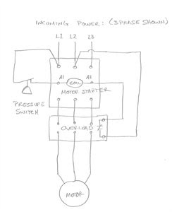 Air Compressor Starter Wiring Diagram - Wiring Diagram Networks