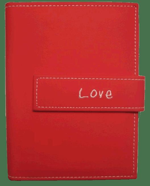 Pioneer 4x6 Red Album 36 Photos Love