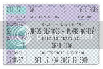Adquiere tu boleto en TICKETMASTER hasta el viernes 16 de noviembre; el precio es de $50.00 M.N.  Checa la sección (IPN/UNAM) en la que quieres disfrutar el partido... VAMOS, LLEVA A TU FAMILIA!!!