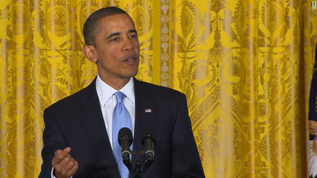 President Barack Obama asks Congress to grant him