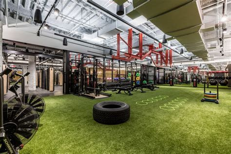 WeWork?s first gym in opens in New York City?s Financial District   Curbed