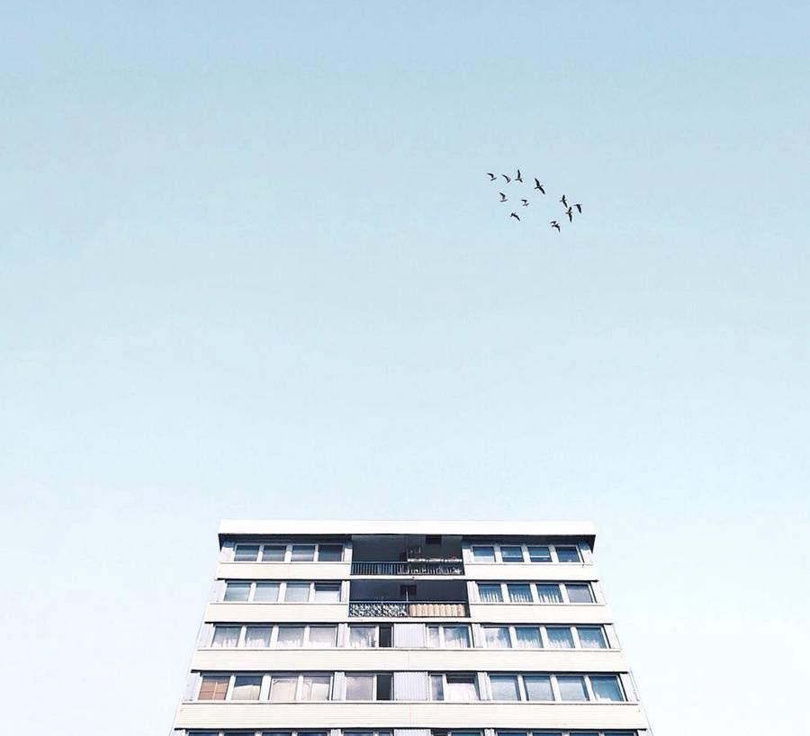 Fotografi minimalis Bangkok