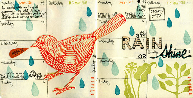 Journal Pages May 2008
