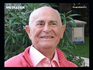 Profesorul Iosif Constantin Drăgan a încetat din viaţă (Imagine: Mediafax Foto)