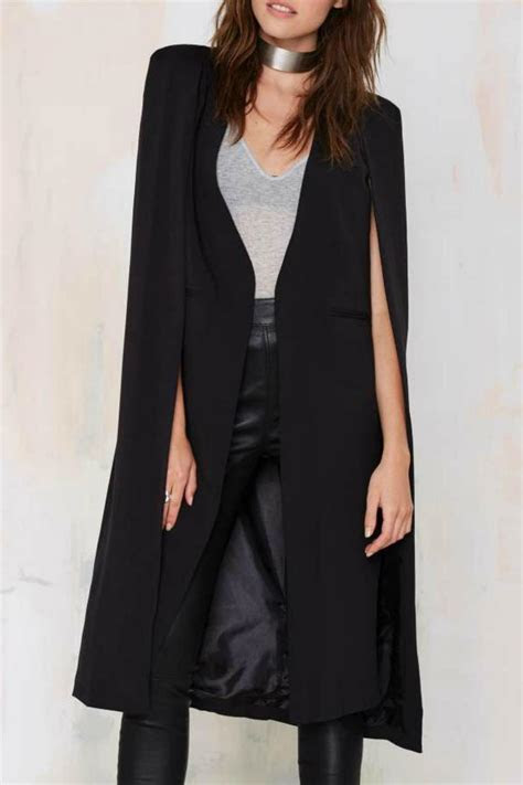 OVI Long Cape Blazer from New Jersey by The VIP Boutique