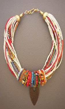 Anna Holland one of a kind Ethnic Adornment