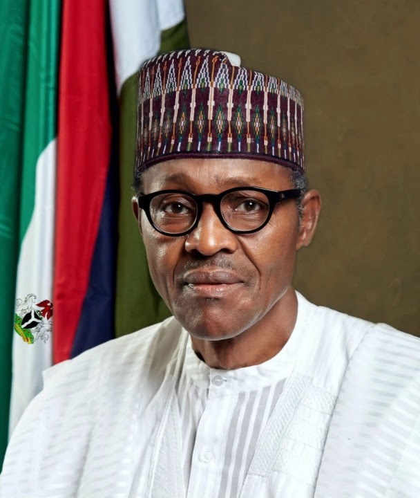President Muhammadu Buhari official Portrait 2015
