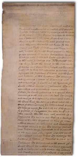 Archivo:English Bill of Rights of 1689.jpg