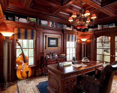 traditional home office decorating ideas  men