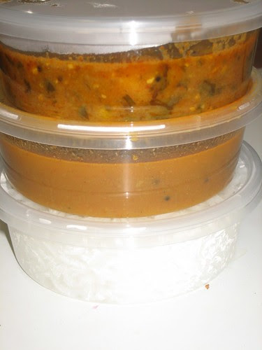 tiffin of curries