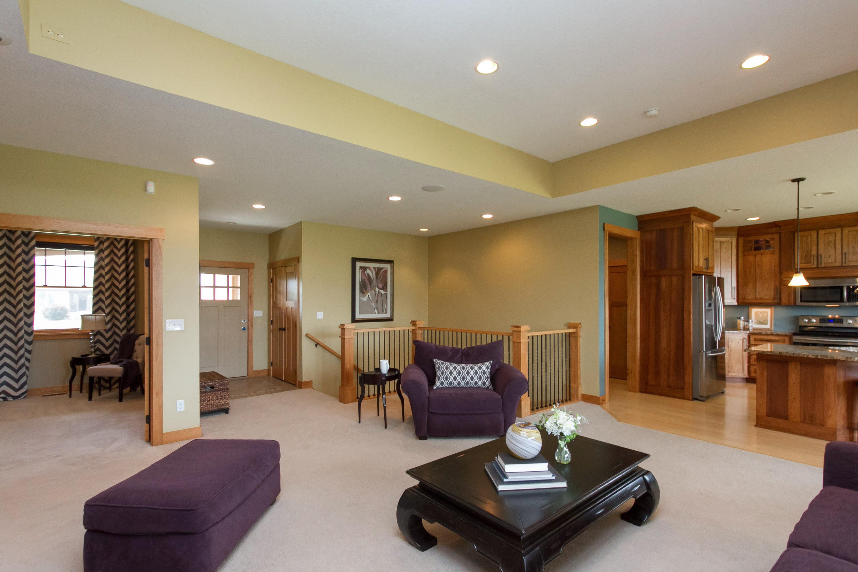 Living Room Entrance View – After   Elizabeth Erin Designs