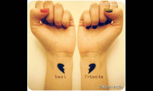 16 Tatuagens De Amizade Para Fazer Com Seus Bffs E Deixar A