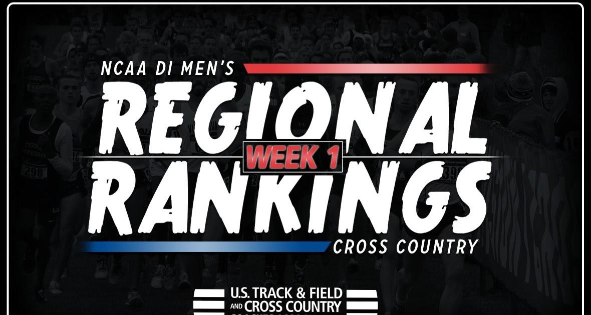 Down the Backstretch: NCAA DI Men's XC Regional Rankings