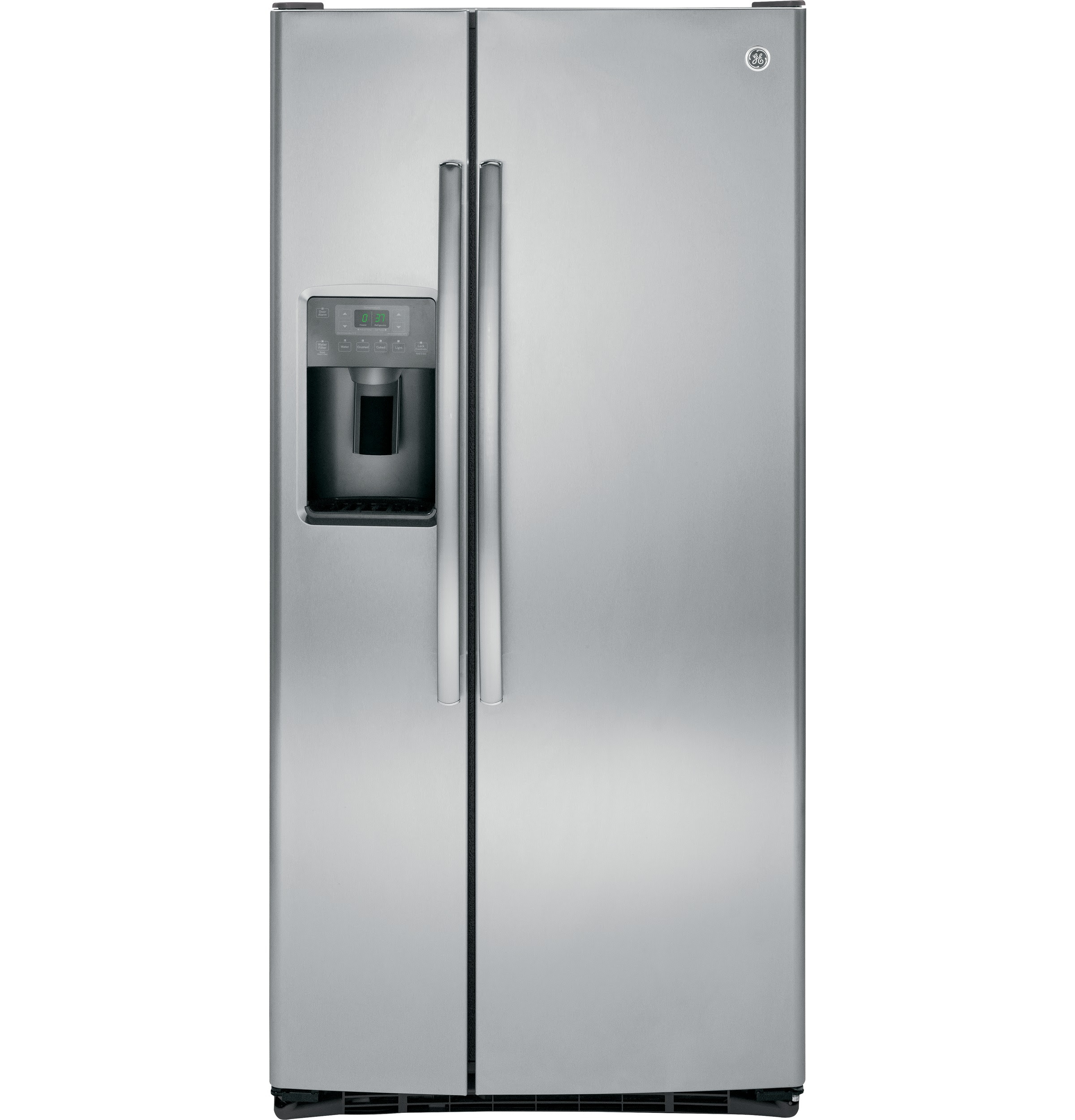GE 23 1 Cu Ft Side By Side Refrigerator GSE23GSESS