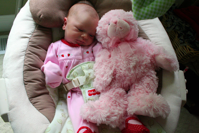 Paige and her Bear
