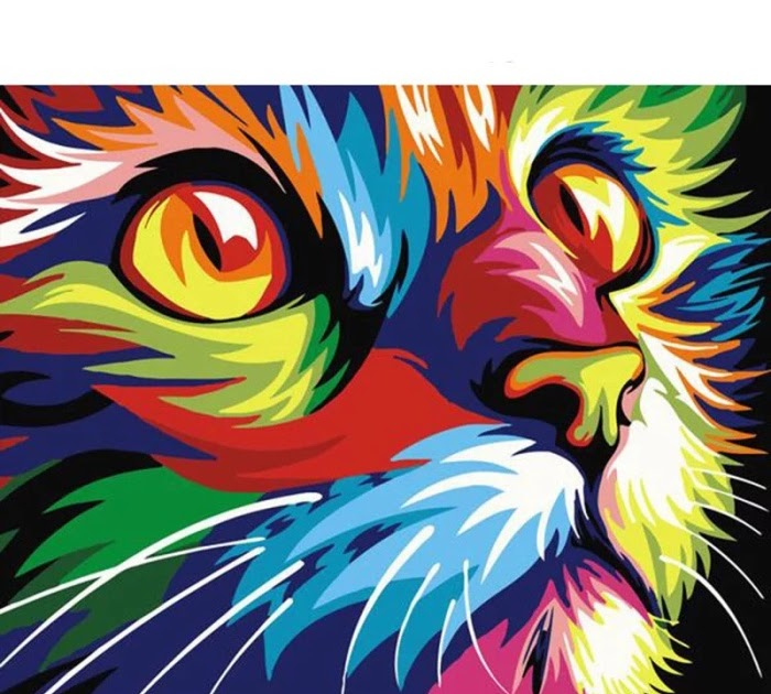 Cara Mewarnai Gambar Kucing - GAMBAR MEWARNAI HD