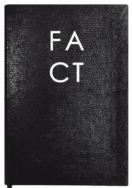 Monochrome FACT - NOTEBOOK