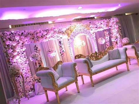 Asian Wedding Stage  Mehndi stage/ centrepieces/ marquee