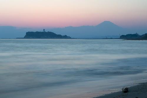 peaceful Japanese coast