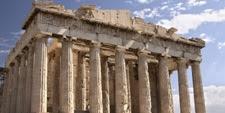 Detalle de la Acrópolis de Atenas (Grecia)