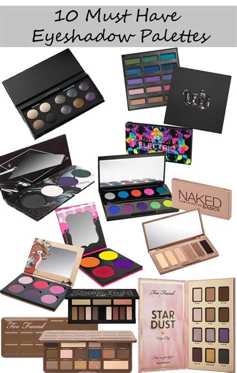 10 Best Eyeshadow Palettes   My picks for pale skin and