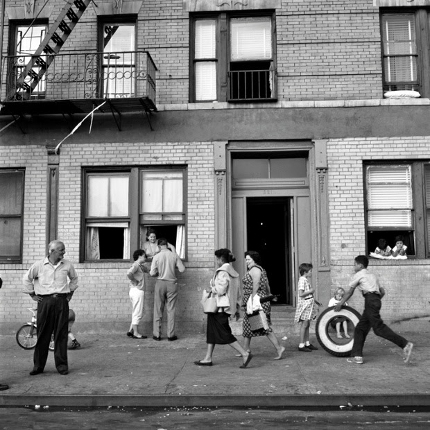 East 108th St, New york, 1959.
