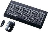 サンワサプライ マウス付きワイヤレスキーボード SKB-WL09SETBK