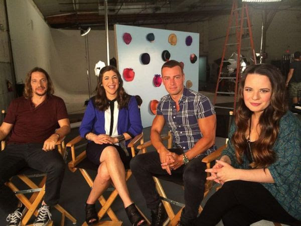 Blossom Reunion - Michael Stoyanov, Mayim Bialik, Joey Lawrence and Jenna von Oy