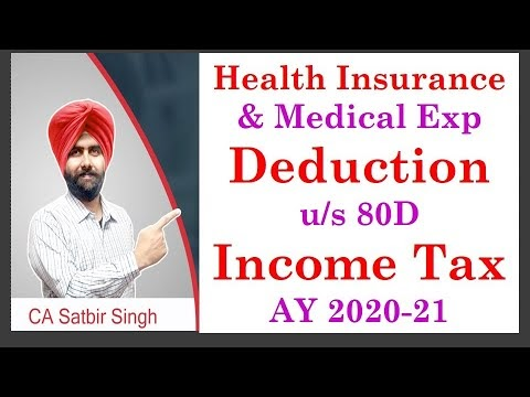 Deduction of Health Insurance Premium| Medical Expenses u ...