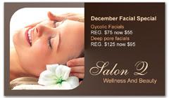 CPS-1034 - salon coupon card