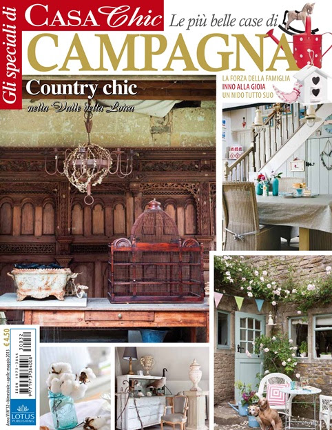 Town and Country Living in Casa Chic magazine via www.town-n-country-living.com